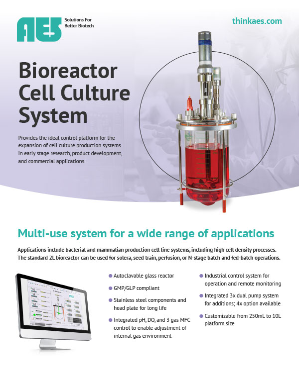 Bioreactors - AES Automated Engineering Services